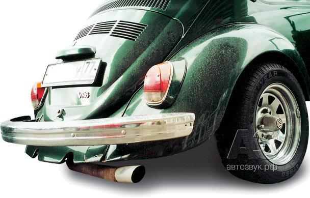 Аудиосистема в Volkswagen Beetle