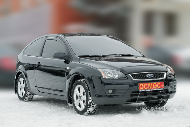 Мультимедийная система в Ford Focus II