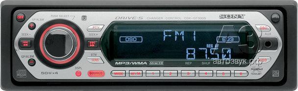 Sony CDX-GT300S