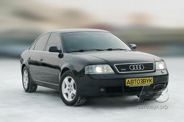 Мультимедийная система в Audi A6