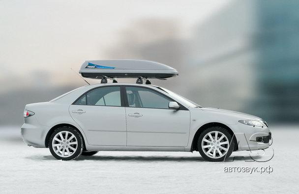 Мультимедийная система в Mazda 6