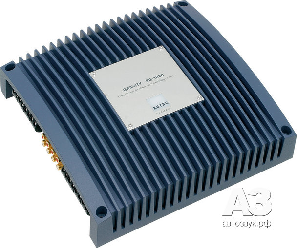 Конфигурируемый усилитель Xetec Gravity 8G-1000