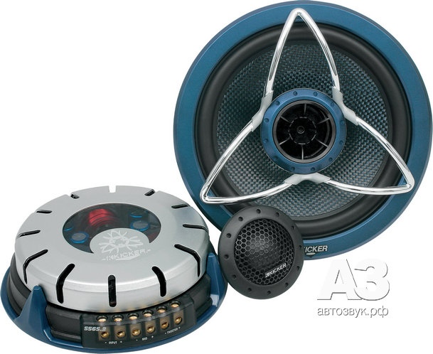 Шестидюймовая акустика Kicker SS65.2