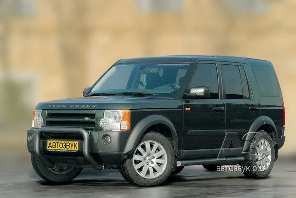 Мультимедийная система в Land Rover Discovery 3