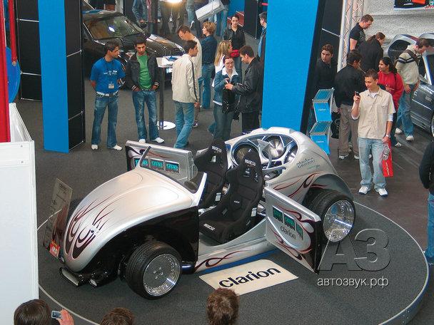 ВЫСТАВКА «CAR+SOUND 2006» В ЗИНЦХАЙМЕ