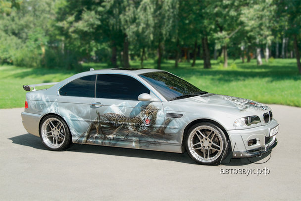 Мультимедийная система в BMW M3