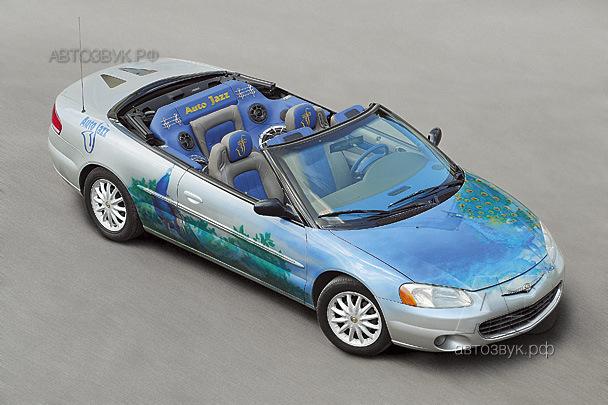 Мультимедийная система в Chrysler Sebring