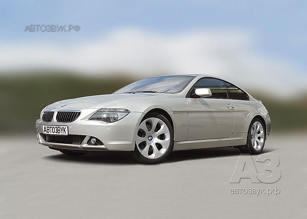 Аудиосистема в BMW 645