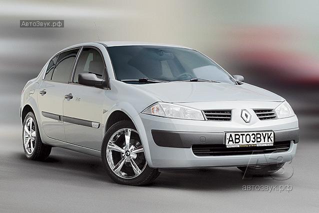 Мультимедийная система в Renault Megane II
