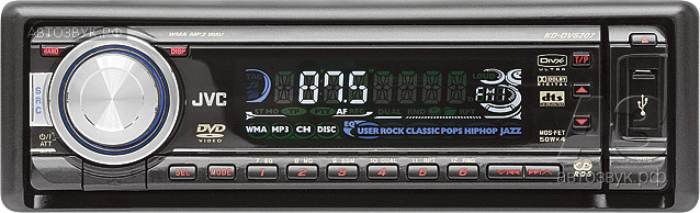 JVC KD-DV6207