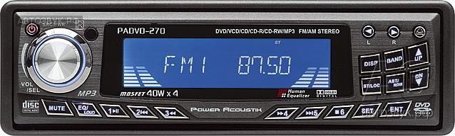 Power Acoustik PADVD-270