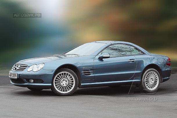 Аудиосистема в Mercedes Benz SL55 AMG
