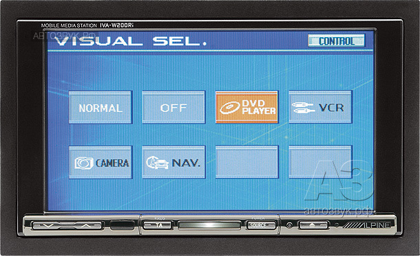 мультимедийное головное устройство Alpine IVA-W200Ri