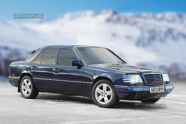 Медиасистема в Mercedes-Benz 420E