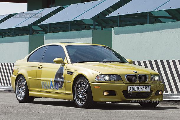 Аудиосистема в BMW M3