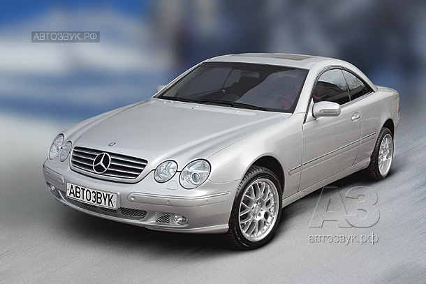 Аудиосистема в Mercedes-Benz CL 55 AMG