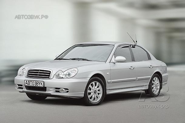 Мультимедийная система в Hyundai Sonata