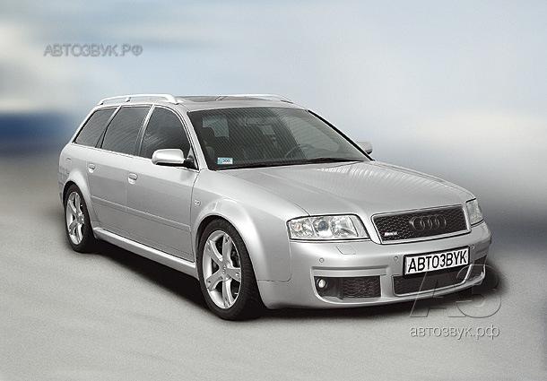 Аудиосистема в Audi RS6