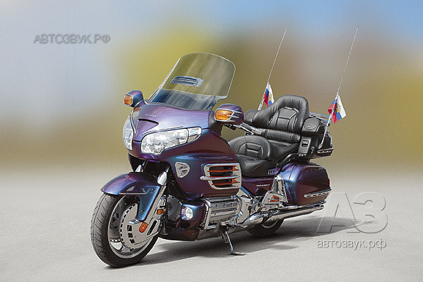 Аудиосистема в Honda Goldwing