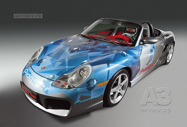 Демо-кар Porsche Boxter • Pioneer