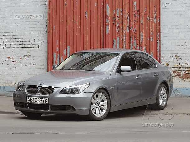 Аудиосистема в BMW 545 (Е60)