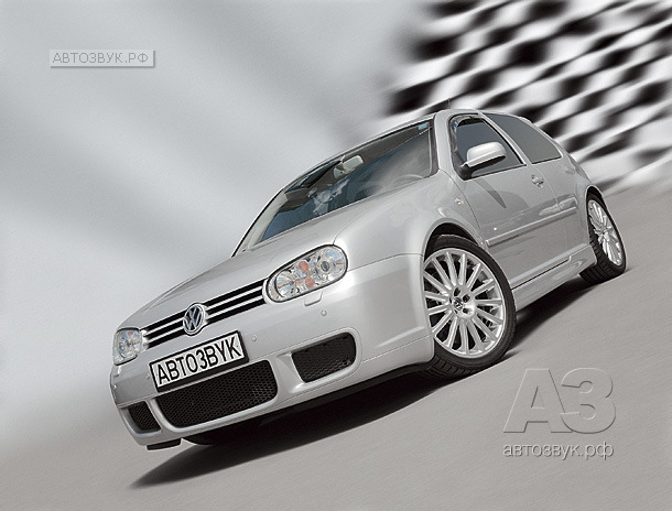 Аудиосистема в Volkswagen Golf R32