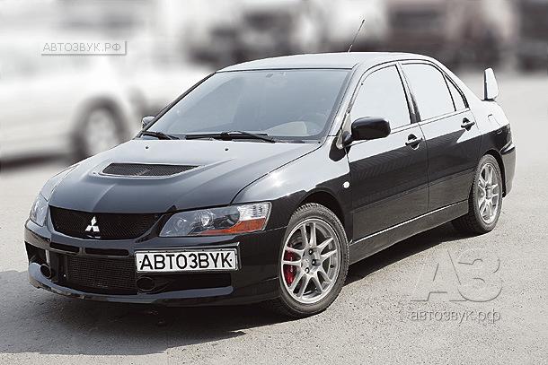 Аудиосистема в Mitsubishi Lancer Evolution 9