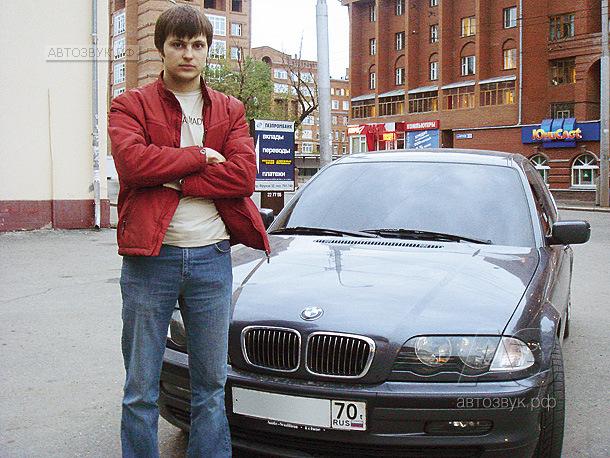 Аудиосистема в BMW 320
