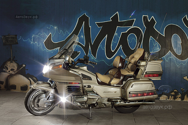 Аудиосистема на Honda GoldWing 1500