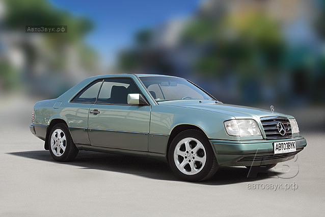 Аудиосистема в Mercedes-Benz W124 Coupe