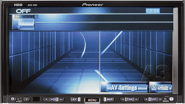 мультимедийное головное устройство Pioneer AVIC-HD3