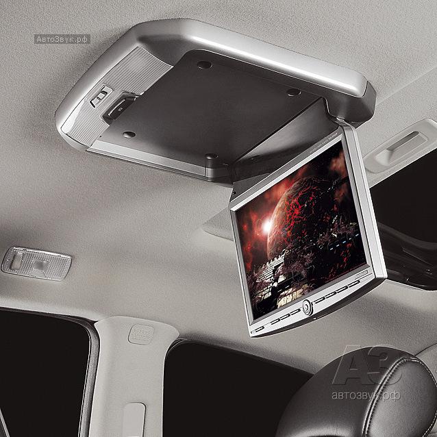 Потолочные мониторы с DVD-проигрывателем