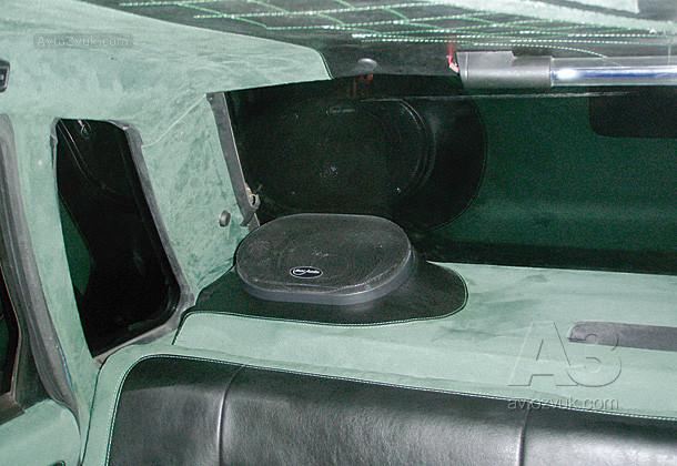 Автозвук в ваз 21099 своими руками 5