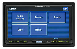 Panasonic CQ-VW100W5