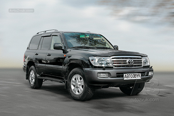 Аудиосистема в Toyota Land Cruiser 100