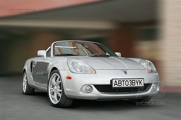 Аудиосистема в Toyota MR2