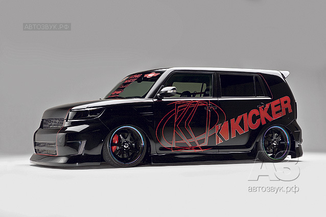 Аудиосистема в Scion xB