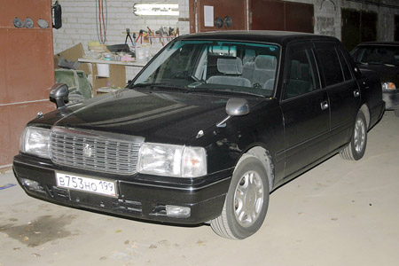 Автомобиль: Toyota Crown 1987-1991. Проблема: сабвуфер