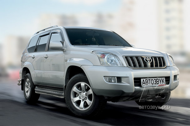 Аудиосистема в Toyota Land Cruiser Prado