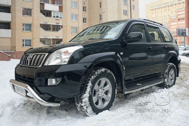 Аудиосистема в Toyota Land Cruiser Prado 120