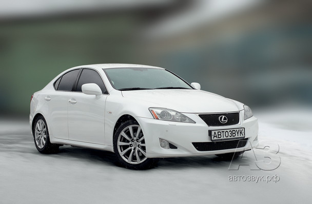 Аудиосистема в Lexus IS250