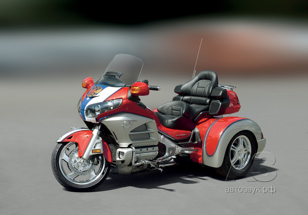 Аудиосистема на Honda Goldwing