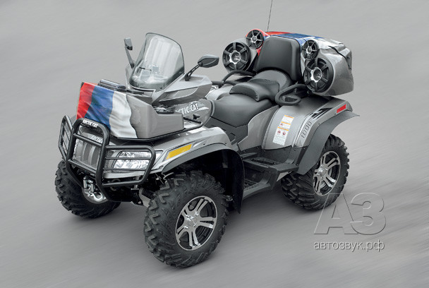 Аудиосистема на Arctic Cat 1000i
