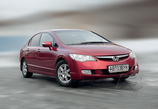 Аудиосистема в Honda Civic 4D