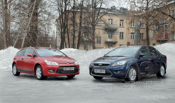 Аудиосистемы в Citroen C4/Ford Focus