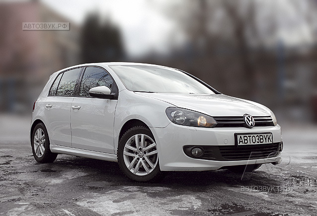 Аудиосистема в VolksWagen Golf 6
