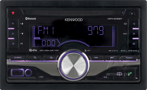 CD-ресивер Kenwood DPX-405BT