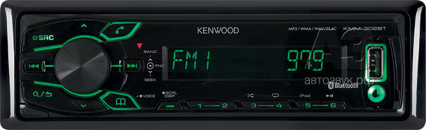 Kenwood KMM-302BT