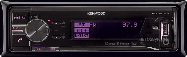CD-ресивер с BT Kenwood KDC-BT53U