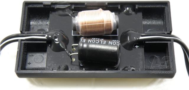 Компонентная акустика Pioneer TS-A173CI. Кроссовер без крышки